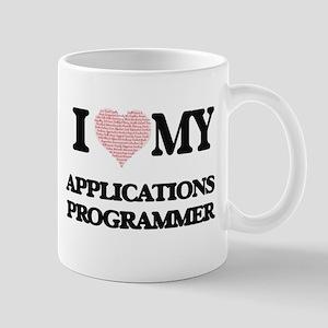 I love my Applications Programmer (Heart Made Mugs