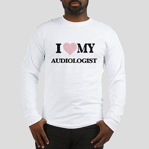 I love my Audiologist (Heart M Long Sleeve T-Shirt