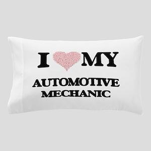 I love my Automotive Mechanic (Heart M Pillow Case
