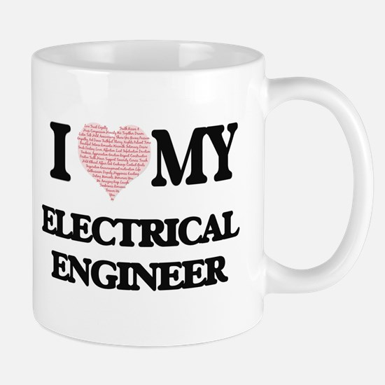 I love my Electrical Engineer (Heart Made fro Mugs