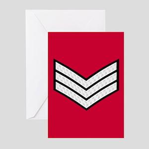 British Sergeant<BR> Note Cards