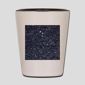 GRANITE BLUE-BLACK 1 Shot Glass