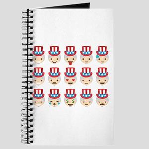 uncle sam emojis Journal