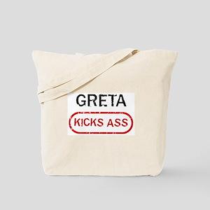 GRETA kicks ass Tote Bag