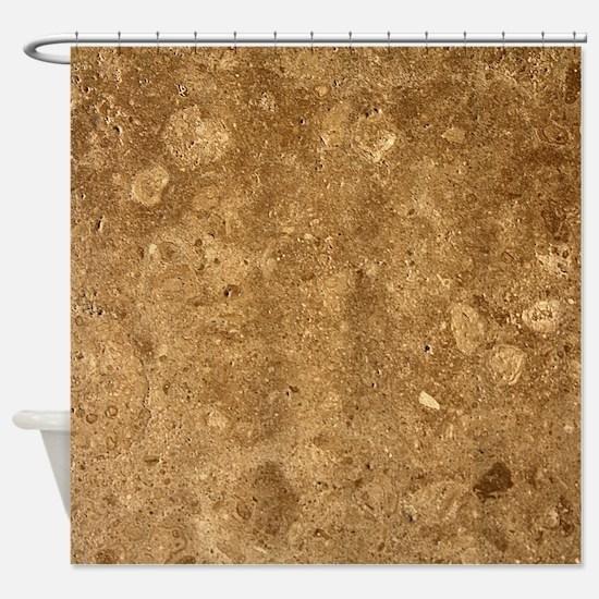 Unique Dark brown Shower Curtain