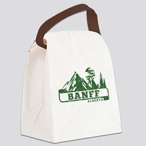 Banff Alberta Canvas Lunch Bag