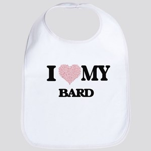 I love my Bard (Heart Made from Words) Bib