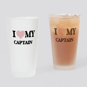 I love my Captain (Heart Made from Drinking Glass