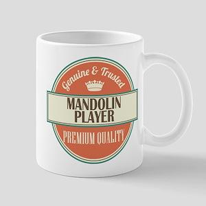 mandolin player vintage logo Mug