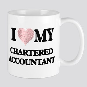 I love my Chartered Accountant (Heart Made fr Mugs