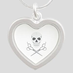 Skull Scissors Necklaces