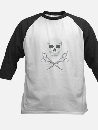 Skull Scissors Baseball Jersey