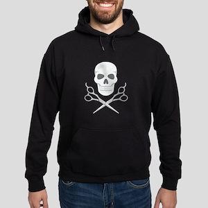 Skull Scissors Hoodie