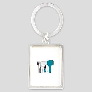 Salon Tools Keychains