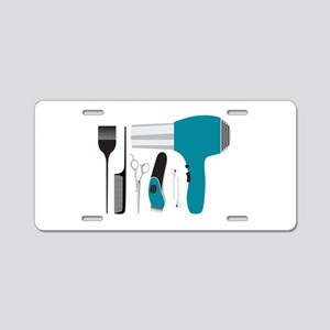 Salon Tools Aluminum License Plate