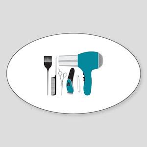 Salon Tools Sticker