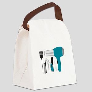 Salon Tools Canvas Lunch Bag