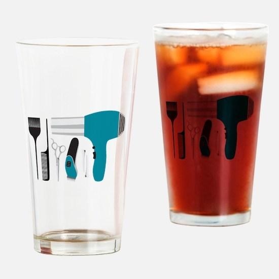 Salon Tools Drinking Glass