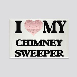I love my Chimney Sweeper (Heart Made from Magnets