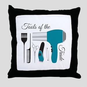 Tools Of Trade Throw Pillow