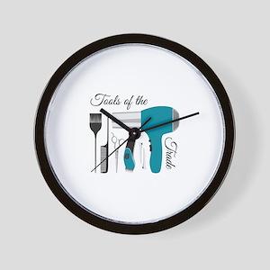 Tools Of Trade Wall Clock
