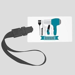 Beautician Tools Luggage Tag