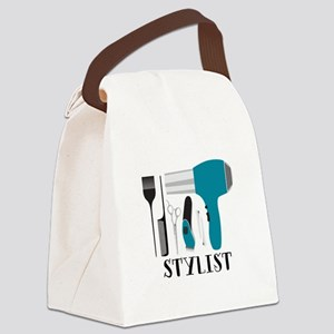 Stylist Tools Canvas Lunch Bag