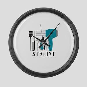 Stylist Tools Large Wall Clock