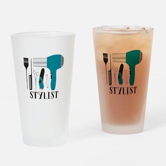 Stylist Tools Drinking Glass