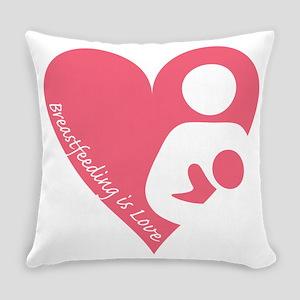 Breastfeeding is Love Everyday Pillow