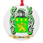 Morke Round Ornament