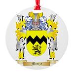 Morize Round Ornament
