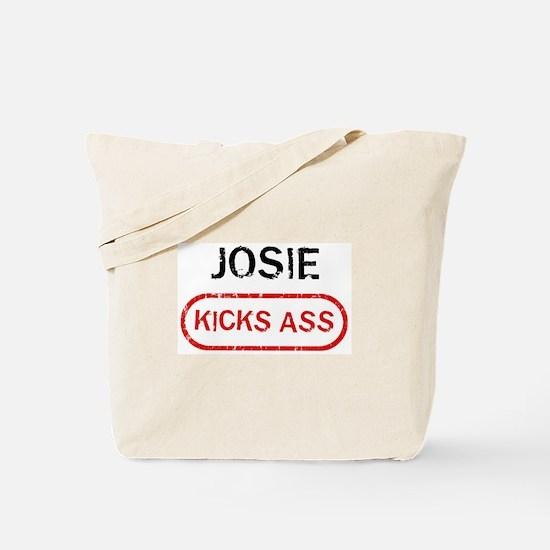 JOSIE kicks ass Tote Bag