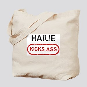 HAILIE kicks ass Tote Bag