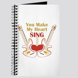 My Heart Sing Journal