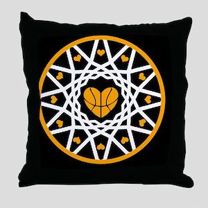 Love Basketball Heart Hoops Original Throw Pillow