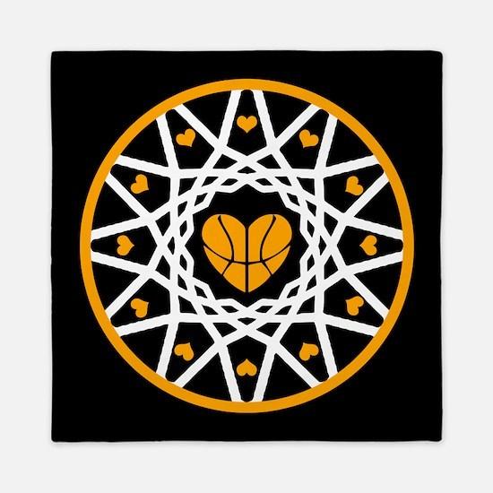 Love Basketball Heart Hoops Original Queen Duvet