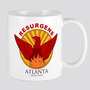 Atlanta Seal-Red Lettering Mugs