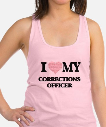 I love my Corrections Officer ( Racerback Tank Top