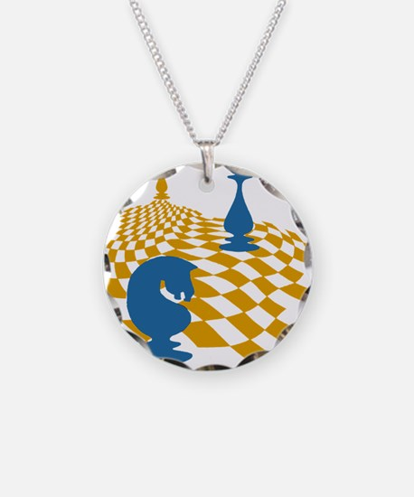 Chess Game Board Magnus Carl Necklace