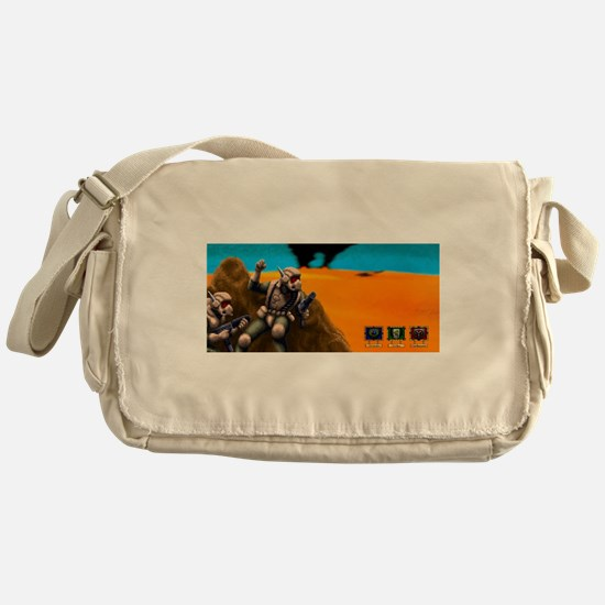 Battle for Planet Dune 2 Vintage Com Messenger Bag