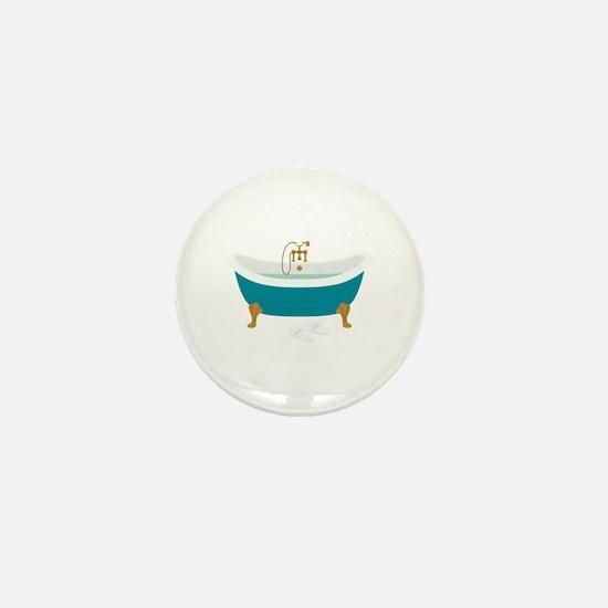 Vintage Bathtub Mini Button