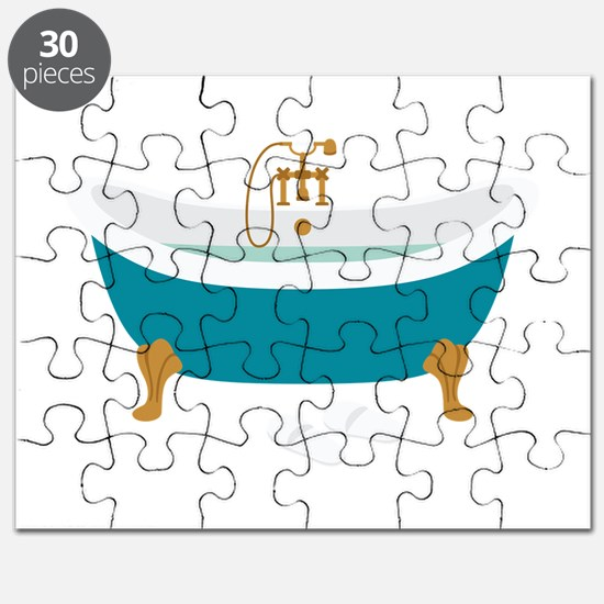 Vintage Bathtub Puzzle