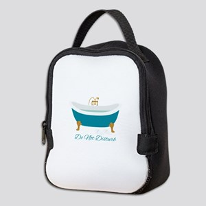 Do Not Disturb Tub Neoprene Lunch Bag