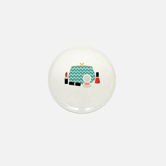 Cosmetics Bag Mini Button