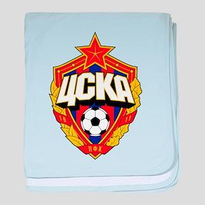 CSKA Soviet Russian Football Red Army baby blanket
