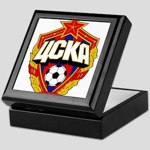 CSKA Soviet Russian Football Red Army Keepsake Box