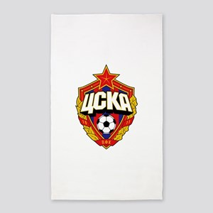 CSKA Soviet Russian Football Red Army Clu Area Rug