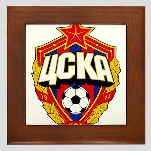 CSKA Soviet Russian Football Red Army Framed Tile