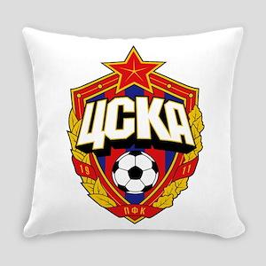 CSKA Soviet Russian Football Red A Everyday Pillow